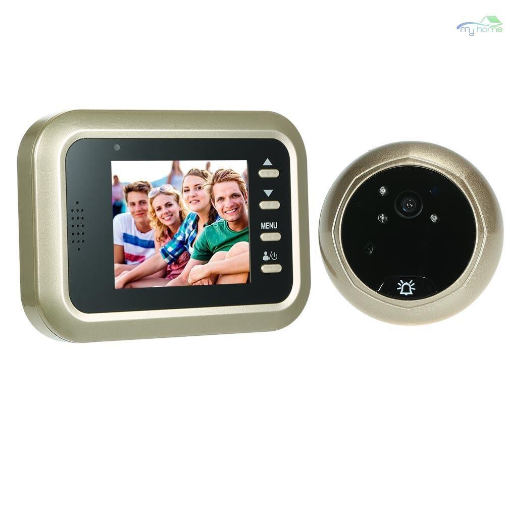 DIY Tools - 2.4 LCD Digital Peephole Viewer 160 Door Eye Doorbell HD IR Camera Night Vision Three Working - #