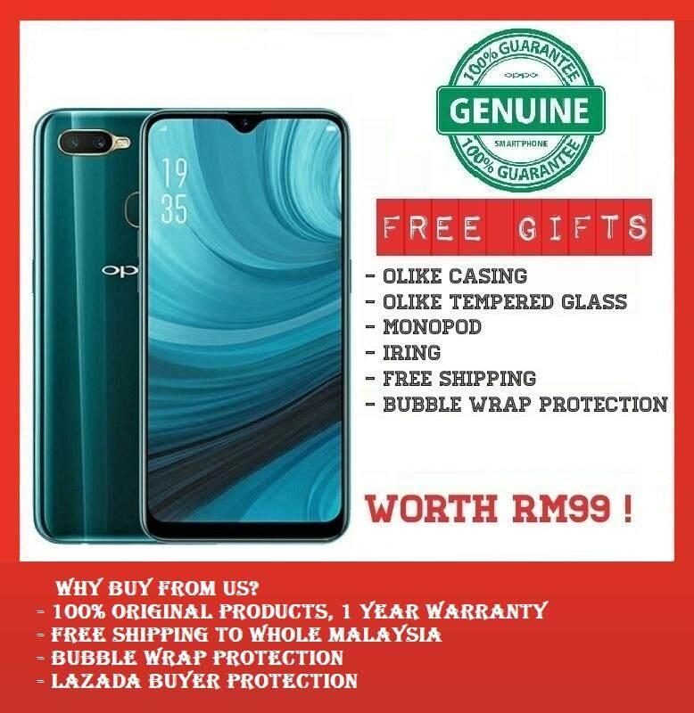 [FREEBIES] OPPO A7 (4GB+64GB+4230 mAh Battery) – 1 Year Oppo Malaysia Warranty