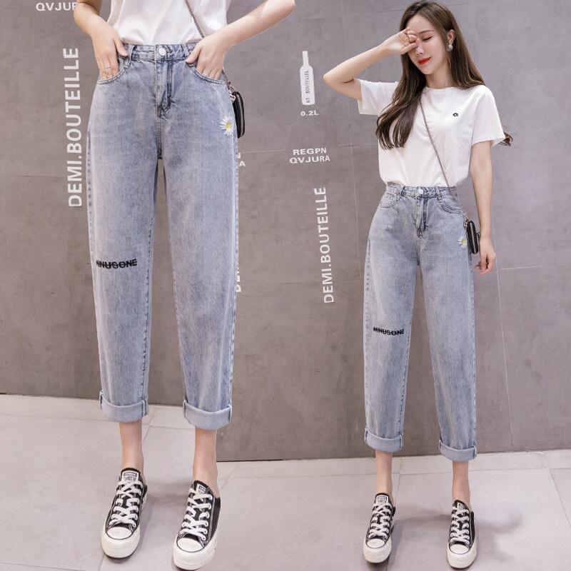(Pre Order) JYS Fashion Korean Style Women Straight Cut Jeans Pant Collection 548 - 4362