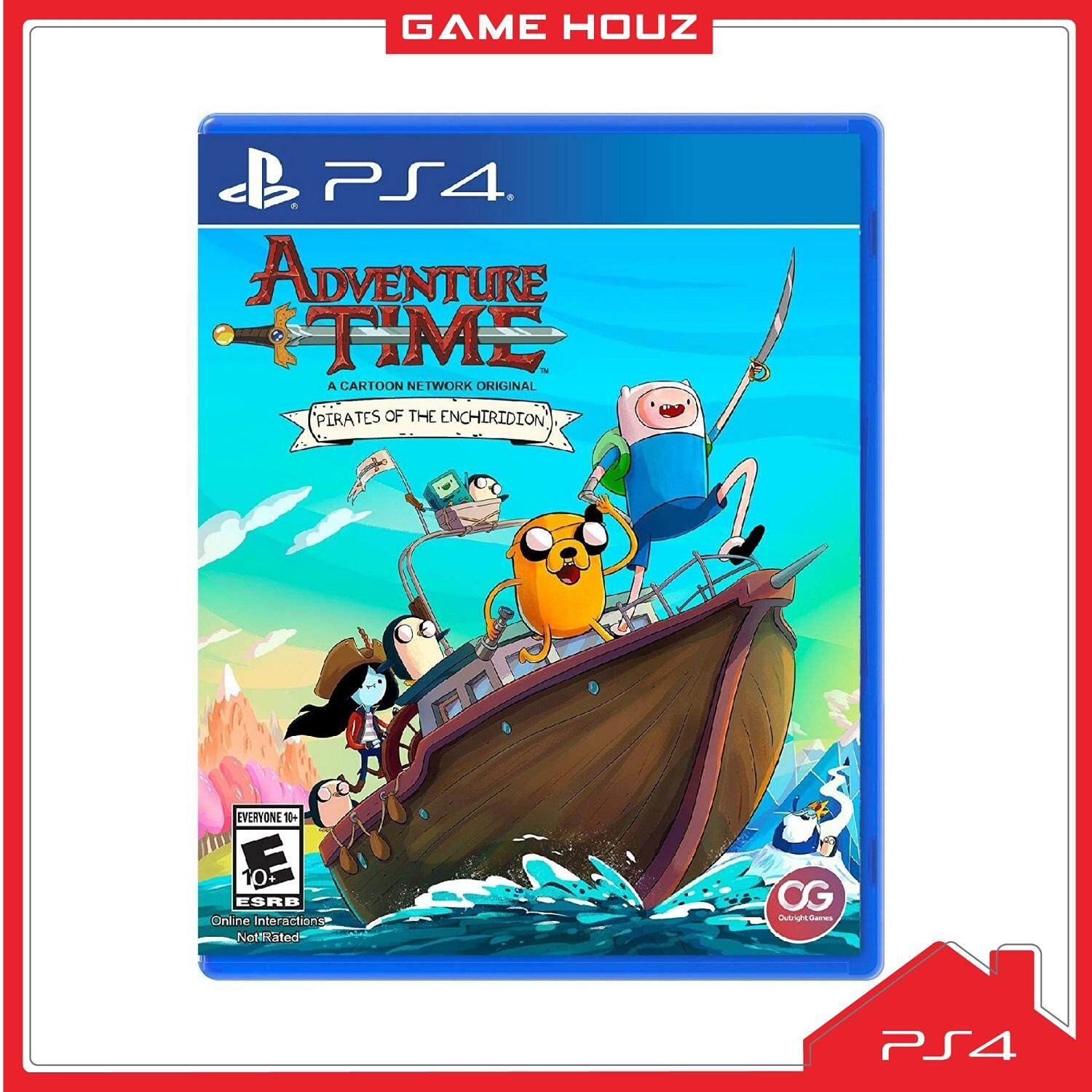 (PS4) Adventure Time: Pirates of the Enchiridion (R2/ENG)