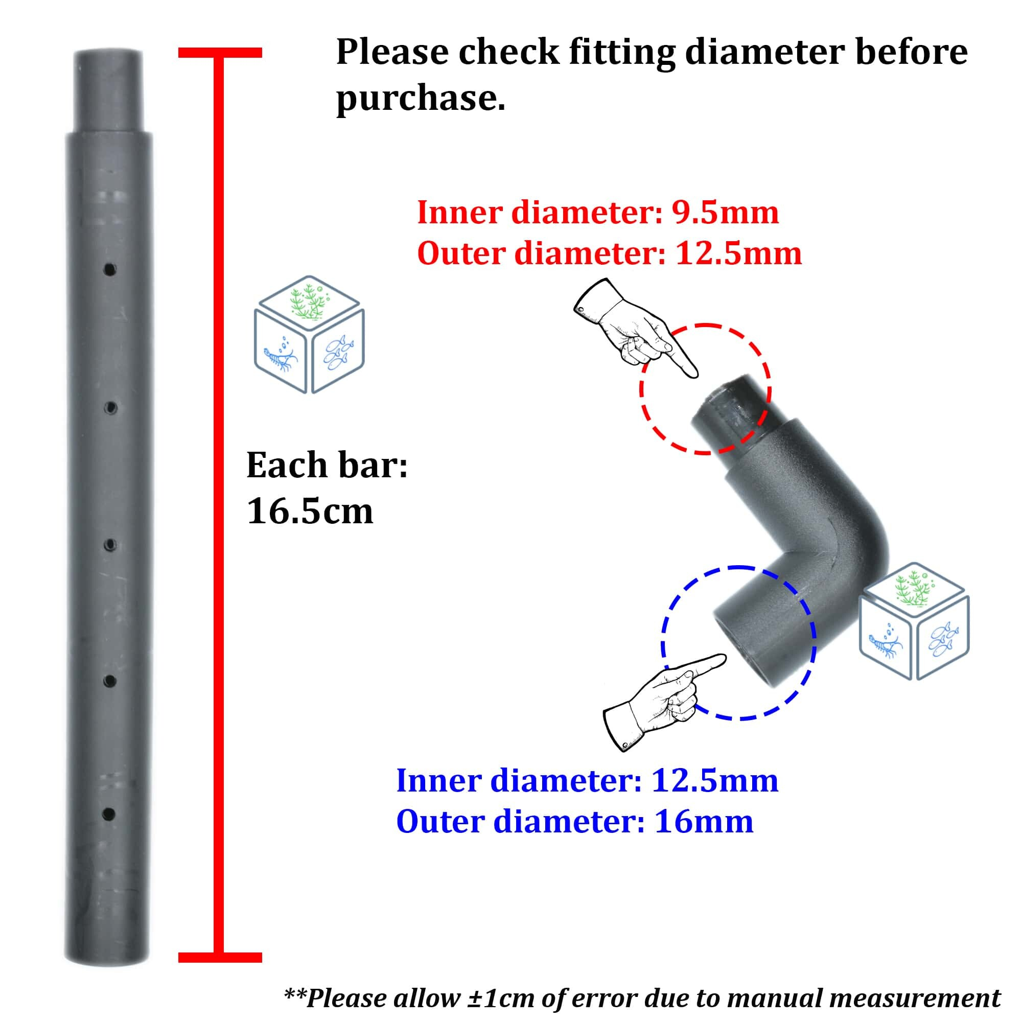 D-602 Rain Bar Unit For Filter or Water Pump