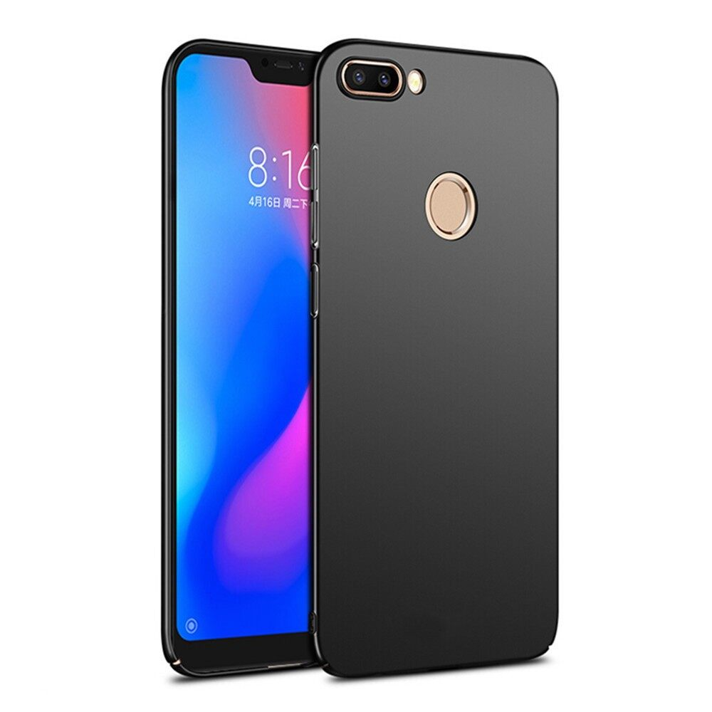 iPh Soft Cover - Hard PC Cover Protective Case for Xiaomi Mi8 Mi 8 Lite 6.26 inch - RED / GOLD / BLACK / BLUE / PINK