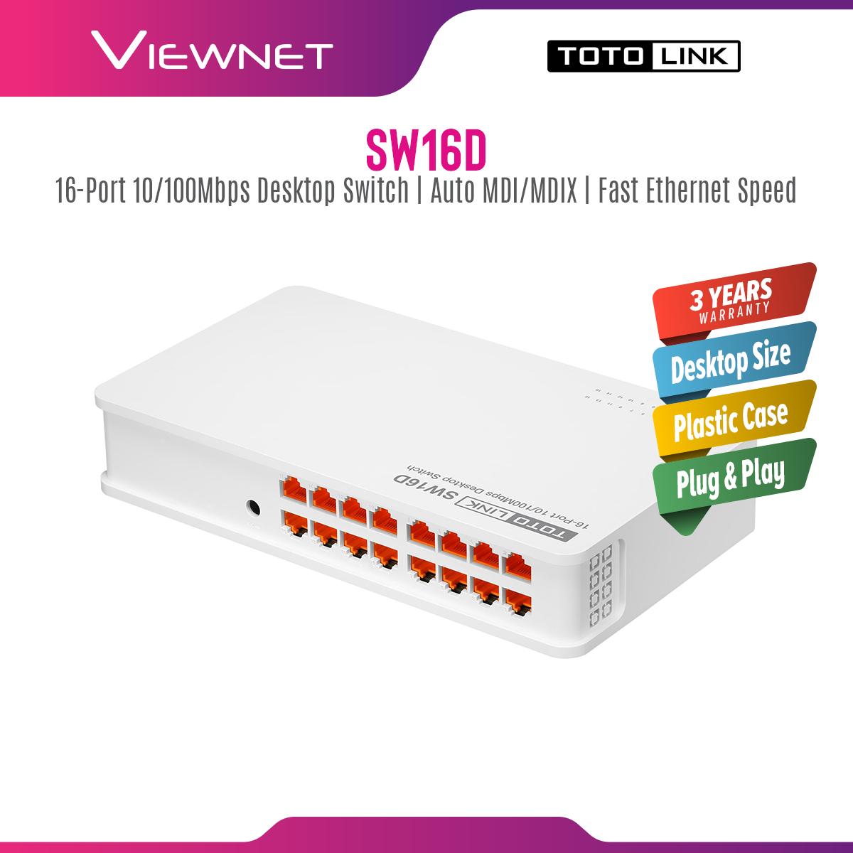 Totolink STD 16-Port Switch (SW16D)