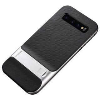 Ốp Lưng TPU Chống Sốc Cho Samsung Galaxy S10 5G + Ốp Bảo Vệ Đứng Khung PC 6.7 Inch thumbnail