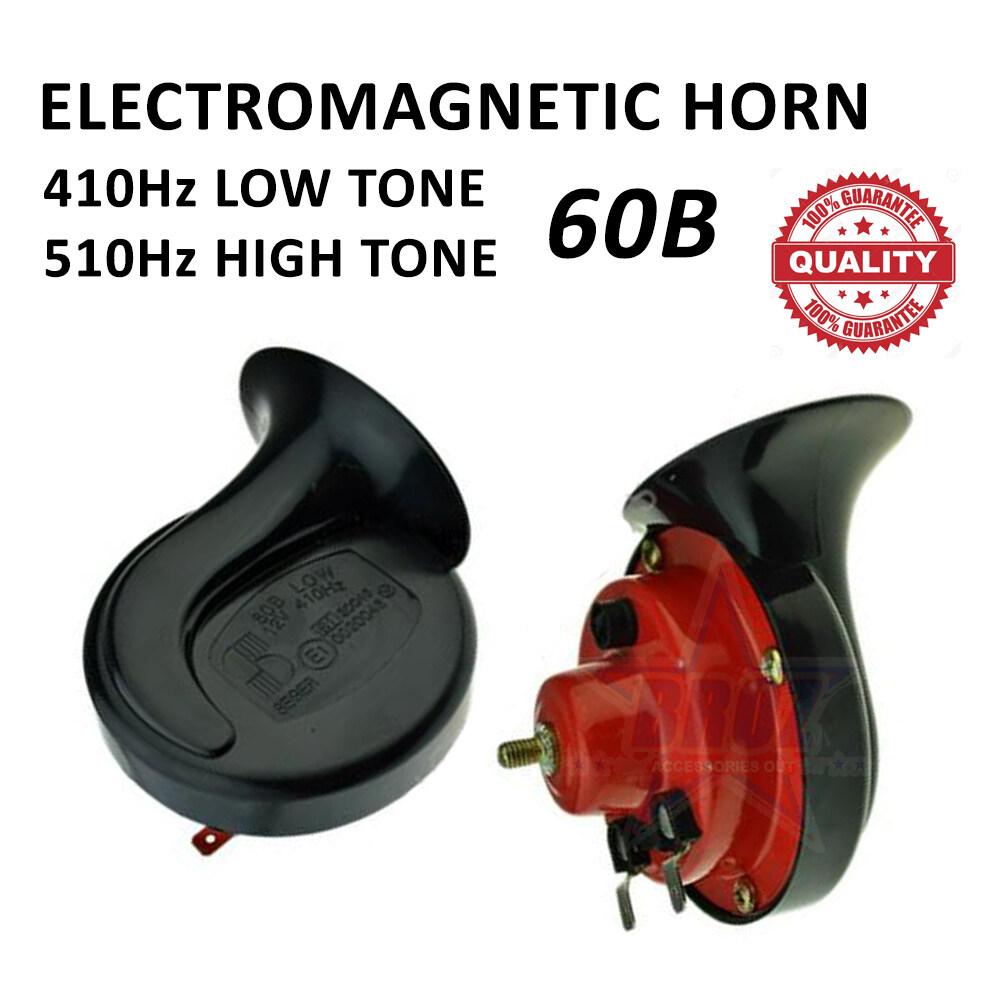 CAR POWERFULL Twin Tone Electromagnetic Horn 60B 12V
