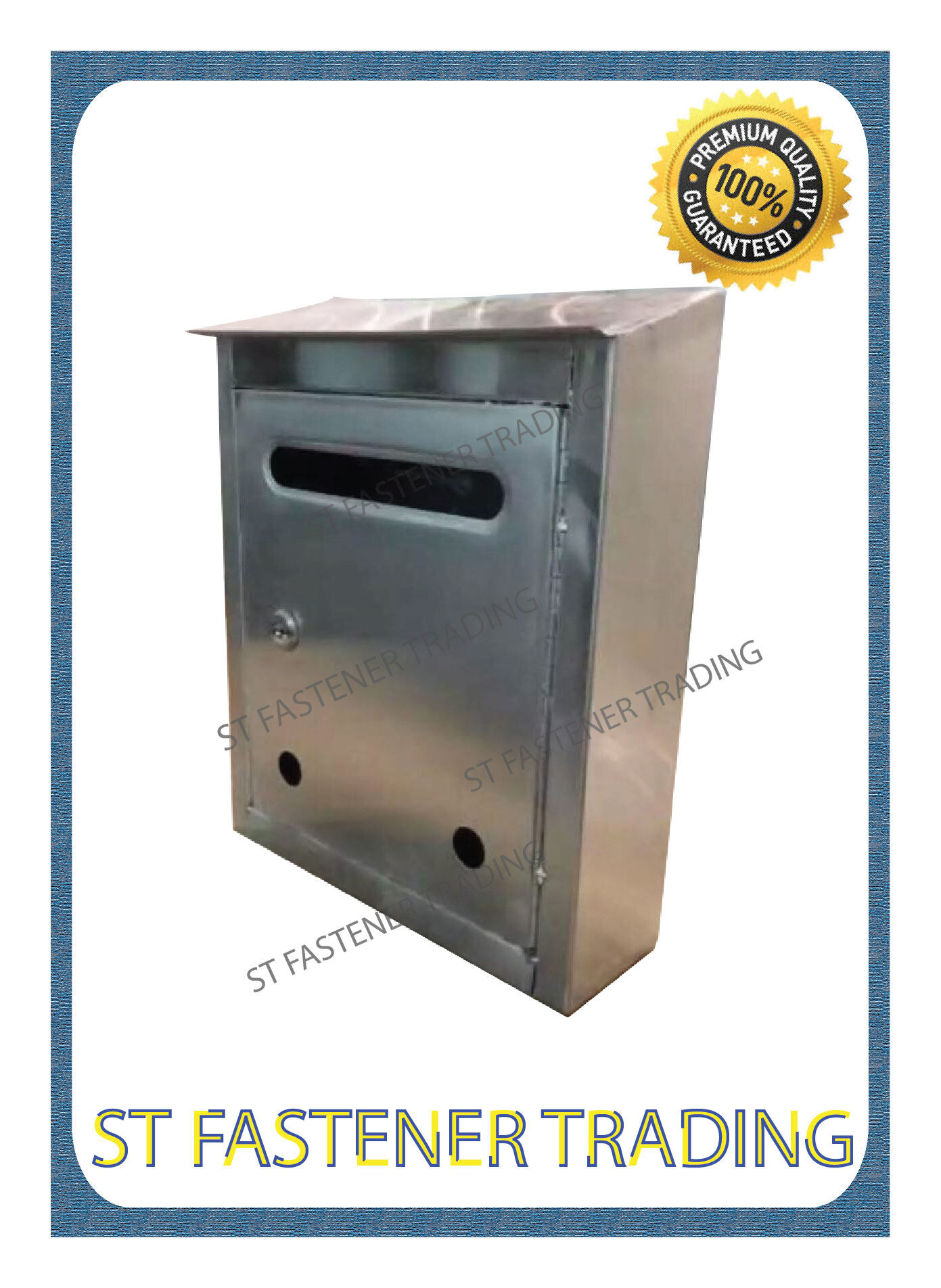 Stainless Steel Letter Box / Mailbox - Roof
