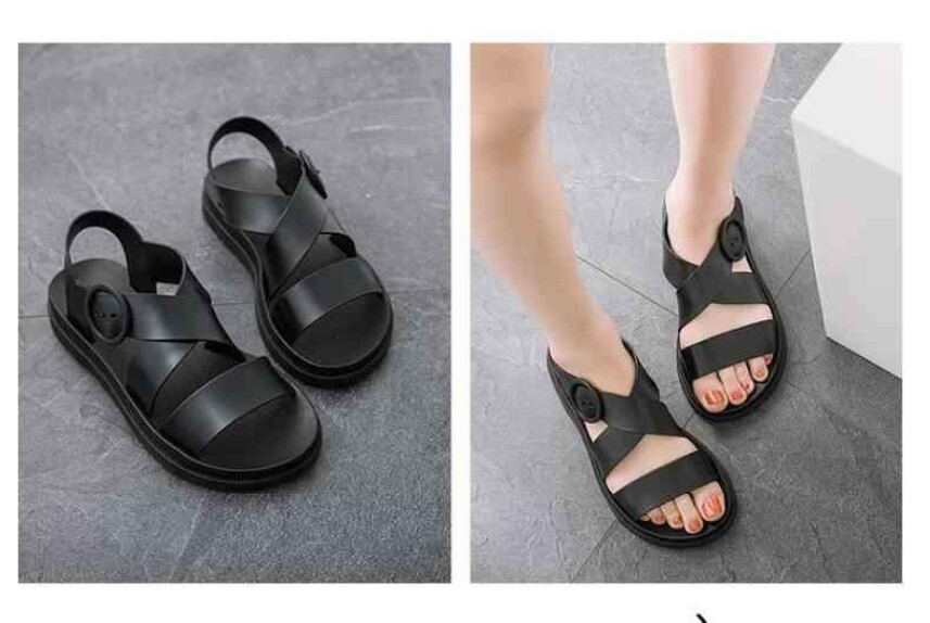 Women Flip Flop Casual Chinese New Year Sandals Slipper Outing Jelly Sandals
