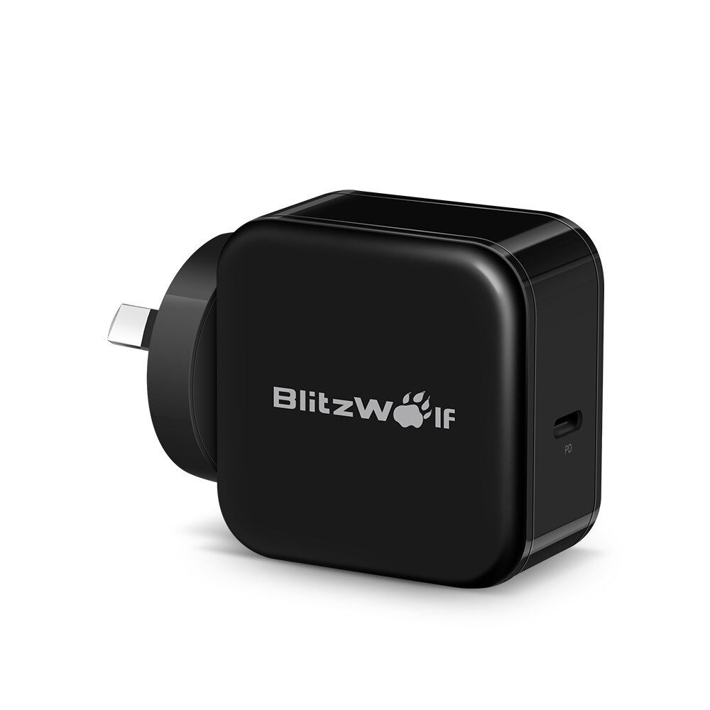 Chargers - BlitzWolf BW-S10 30W USB Type-C PD AU Charger - Cables