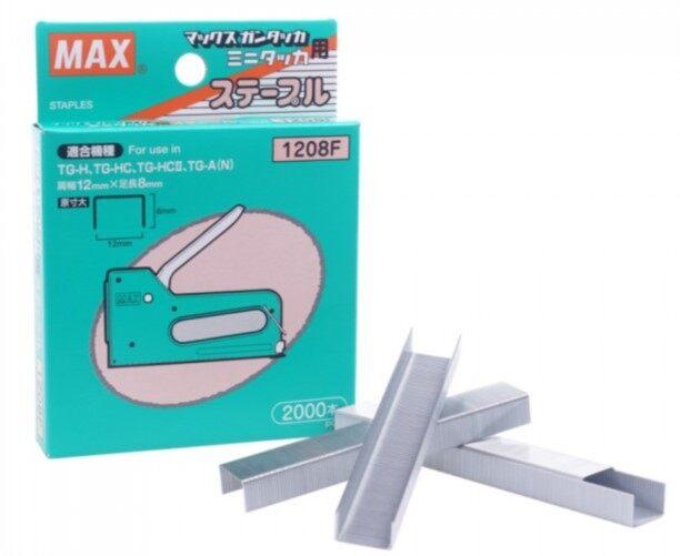 MAX Staples 1208F (2000's) (Stapler Bullet)