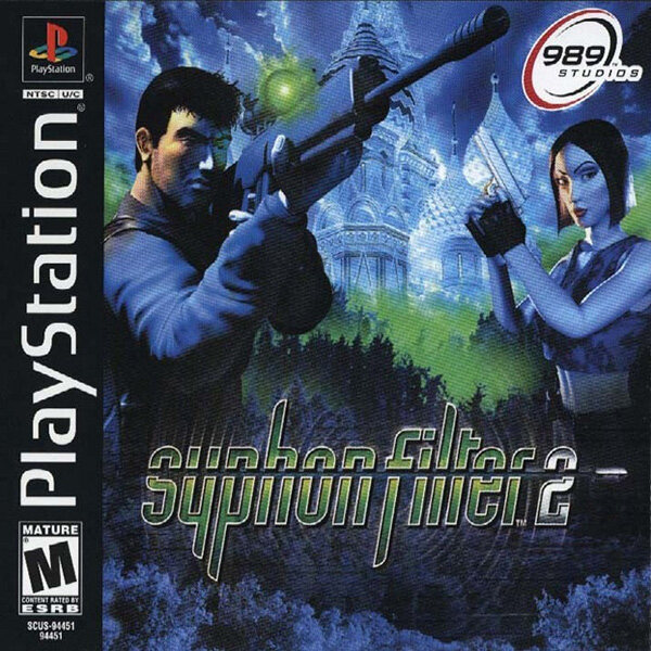 PS1 Syphon Filter 2 [2DVD]