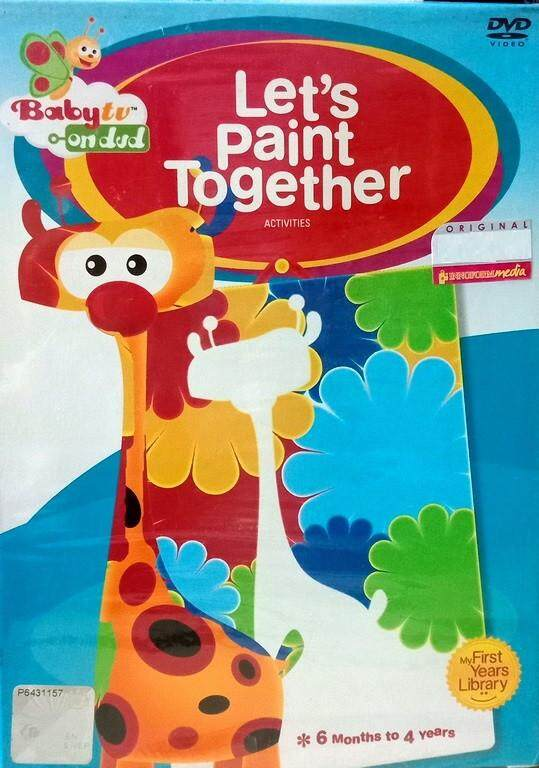 Baby TV On DVD Series Let\'s Paint Together DVD 6 Months to 4 Years