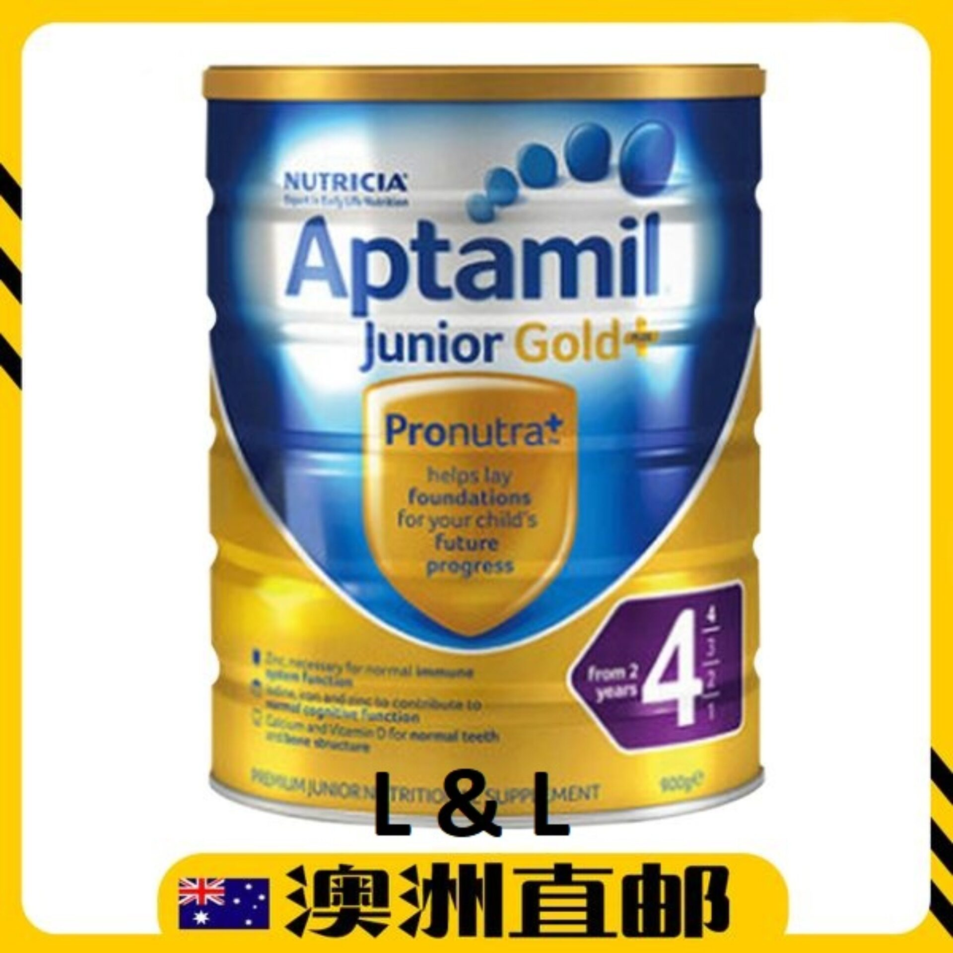 [Pre Order] Australia import Aptamill Gold+ Formula Step 4(from 3 years +) 900g