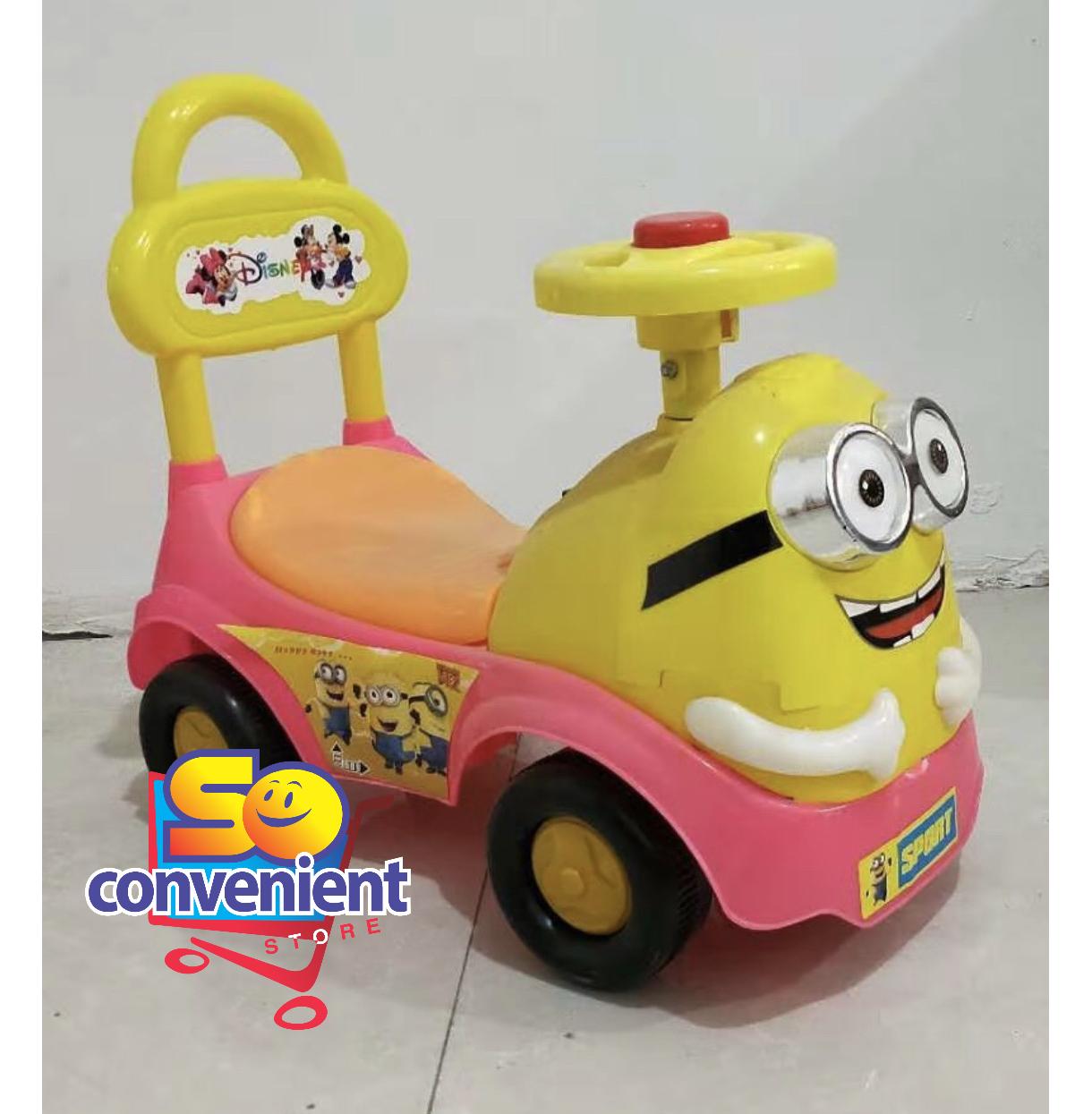 Minion Ride on Car Push Car 913