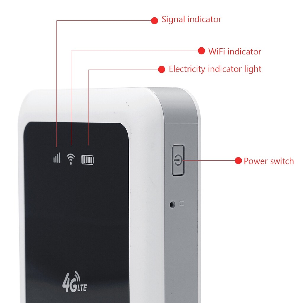 Modems & Routers - 4G 150Mbps WIRELESS Mobile Wifi Router MINI PORTABLE Hotspot Unlocked - Network Components