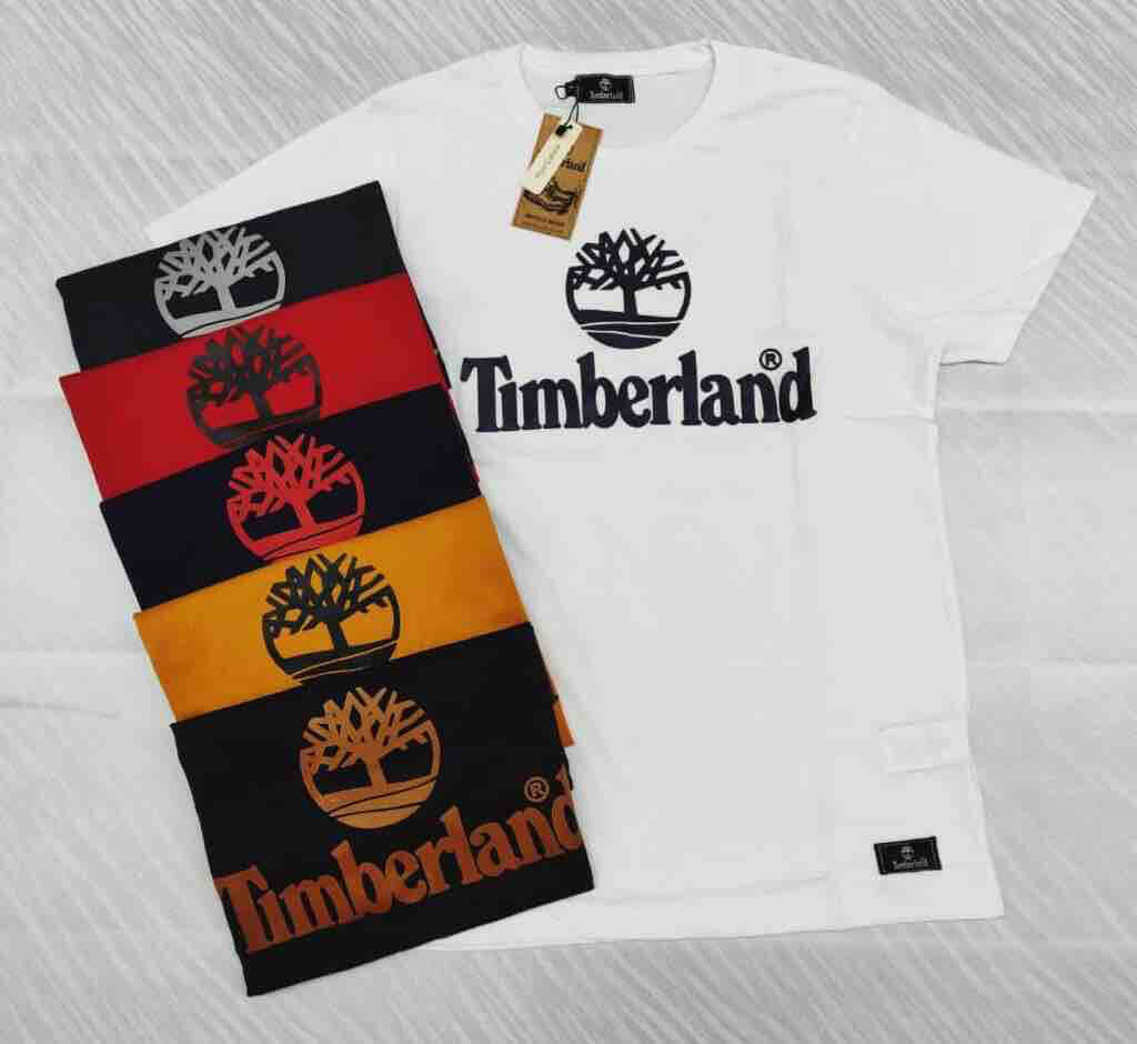 Timberland Originals Imported T-Shirt Round Neck 100% Cotton 1-2 Day Delivery