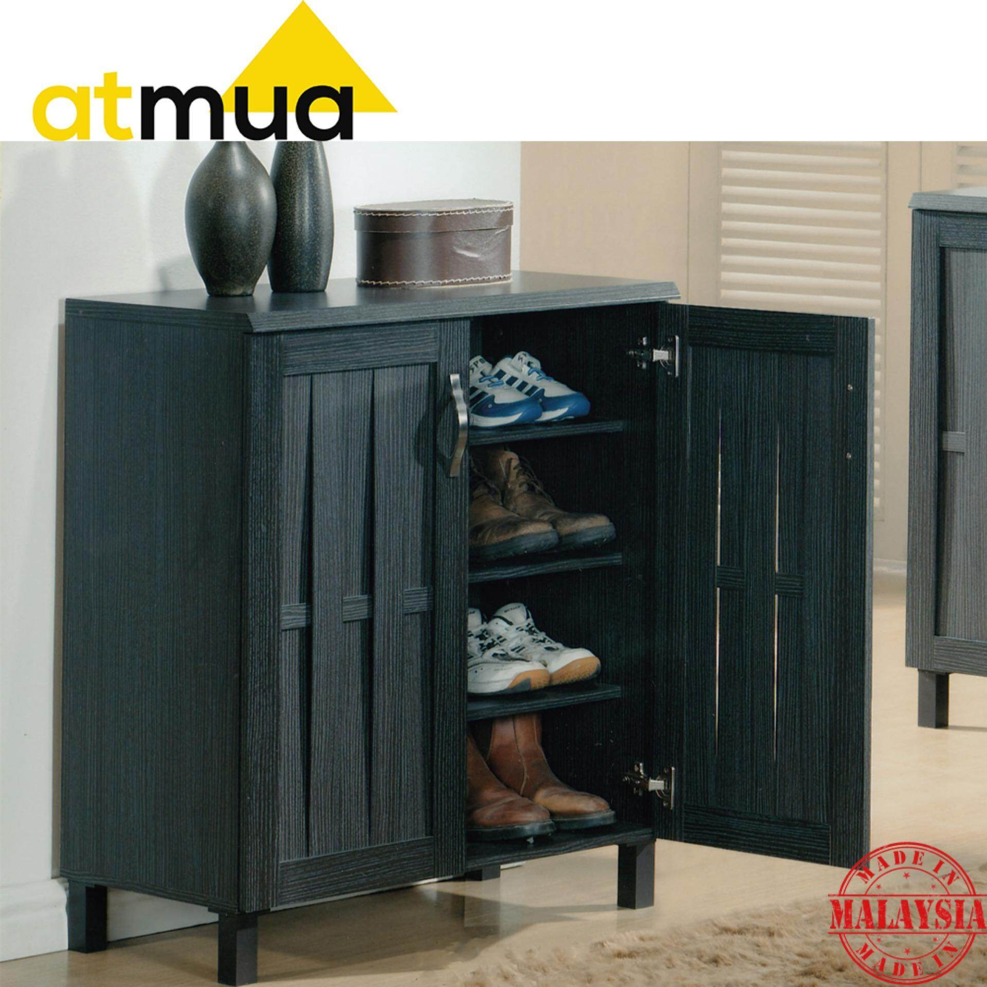 Atmua Tad Shoes Cabinet - 2 Door [Particle Board]