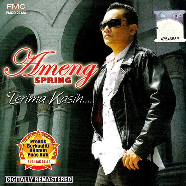 Ameng Spring Terima Kasih Kompilasi Album Lagu Terbaik CD Digitally Remastered