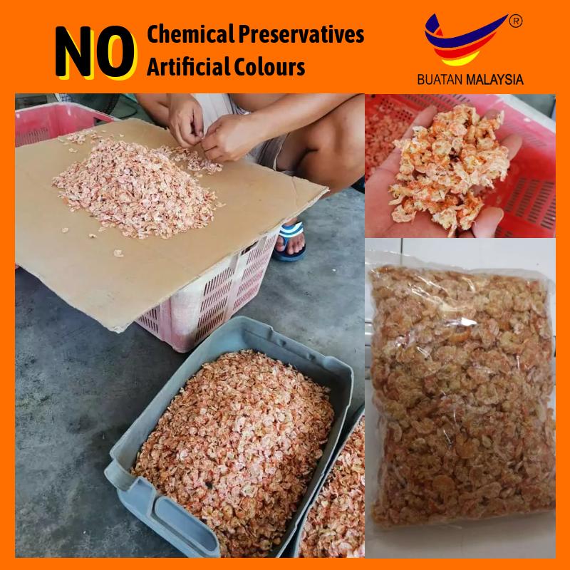(Ready Stock) 100 grams Premium Dried Shrimps Malaysia Local Fish Village High Quality Sea Product Udang Kering Gred A Kuala Kurau Kuala Gula Kampung Nelayan Perak Hasil Laut Tempatan