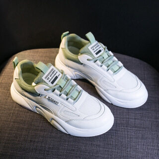 Dad shoes women s shoes 2021 new autumn Korean version board shoes ins fashion shoes sports leisure small white shoes women s H101 thumbnail