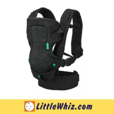 Infantino: Flip 4 in 1 Convertible Carrier - Black