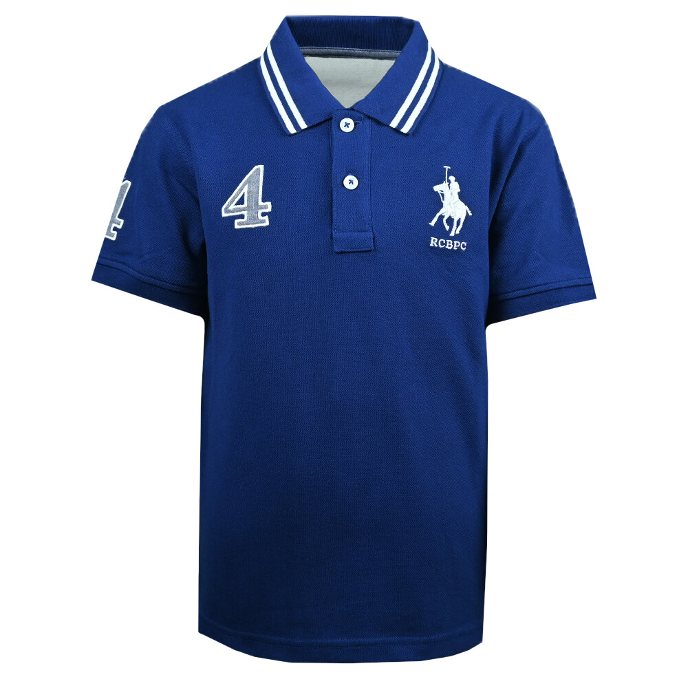 RCB POLO CLUB BOYS POLO TEE RBTS11142-BB OA1