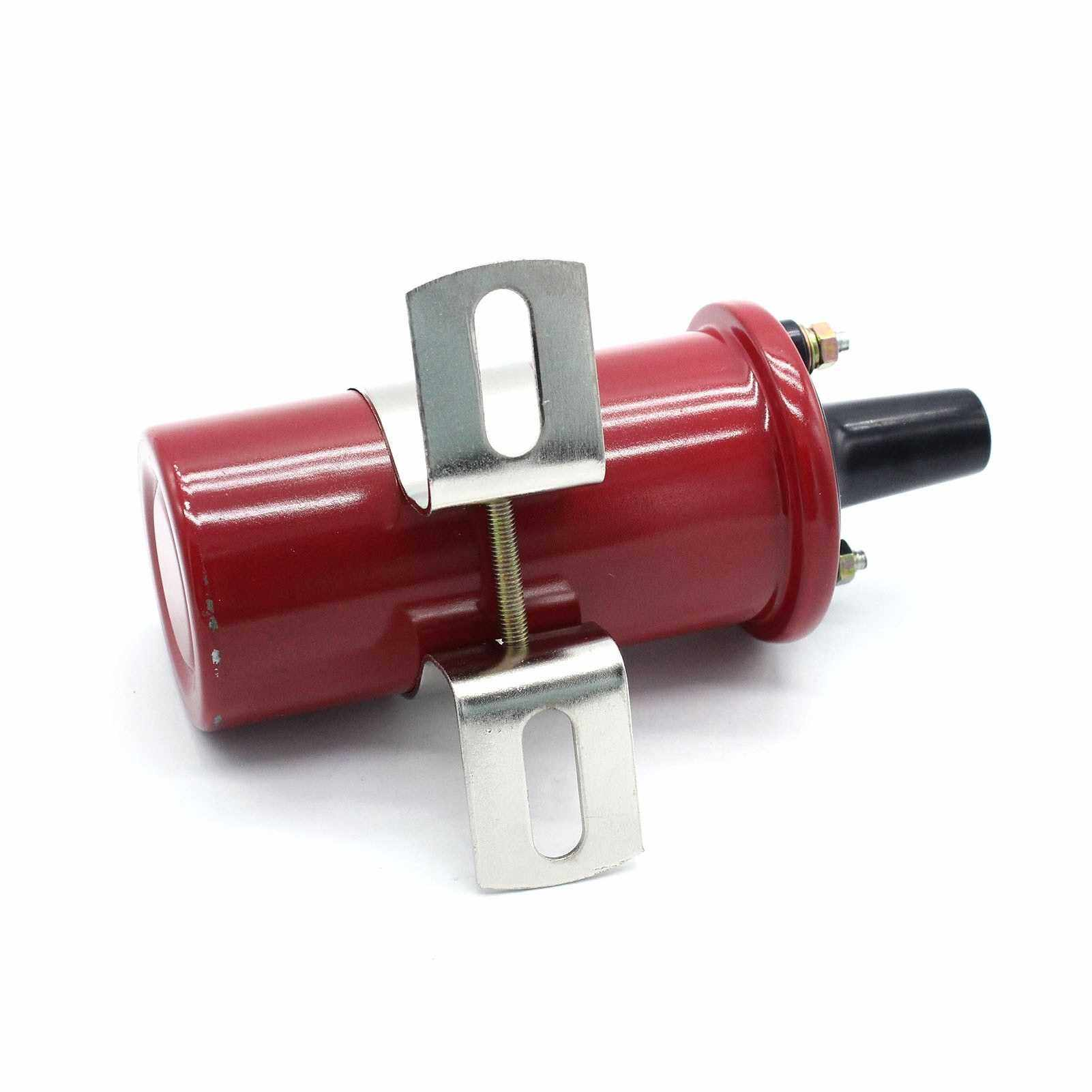 8202 Red 12V Electronic Ignition Coil 45,000 Volts (Red)