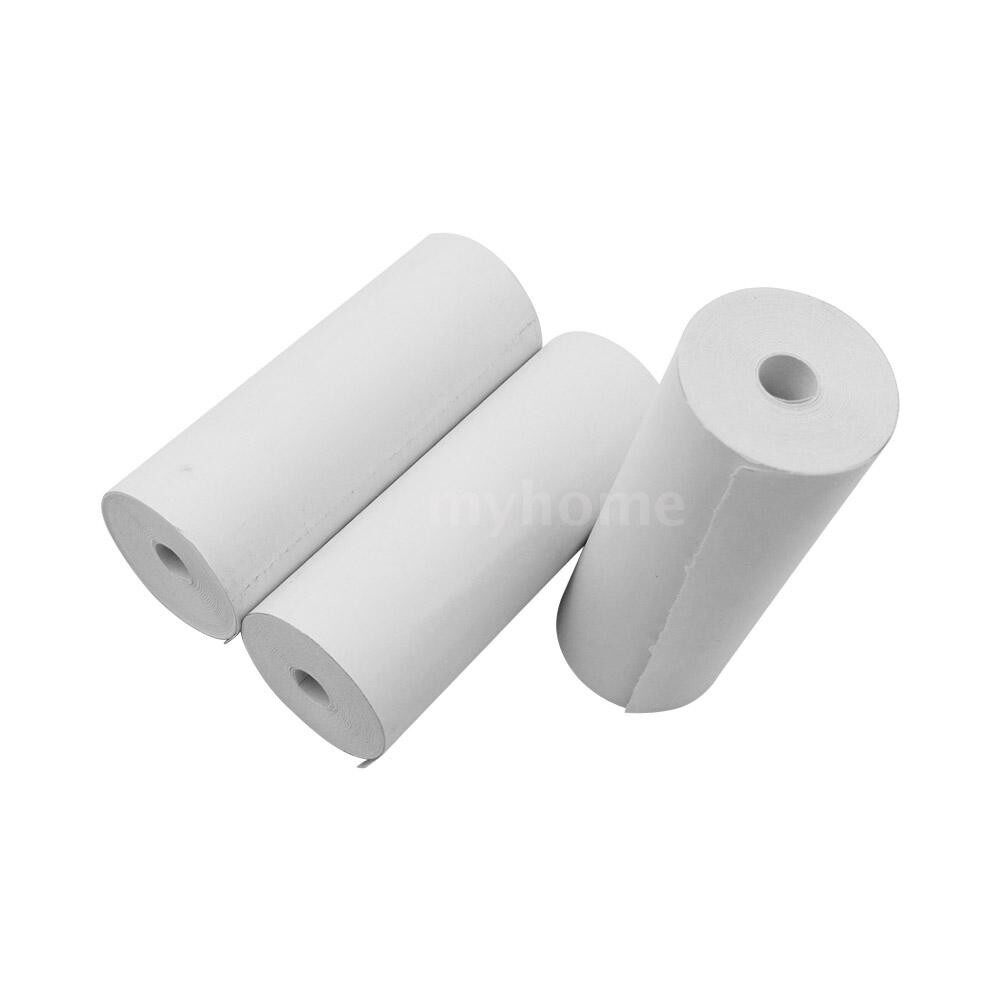 Printers & Projectors - Thermal Paper Rolls 8030mm Printer Paper Cash Register Rolls for Supermarket POS Receipt Paper - WHITE