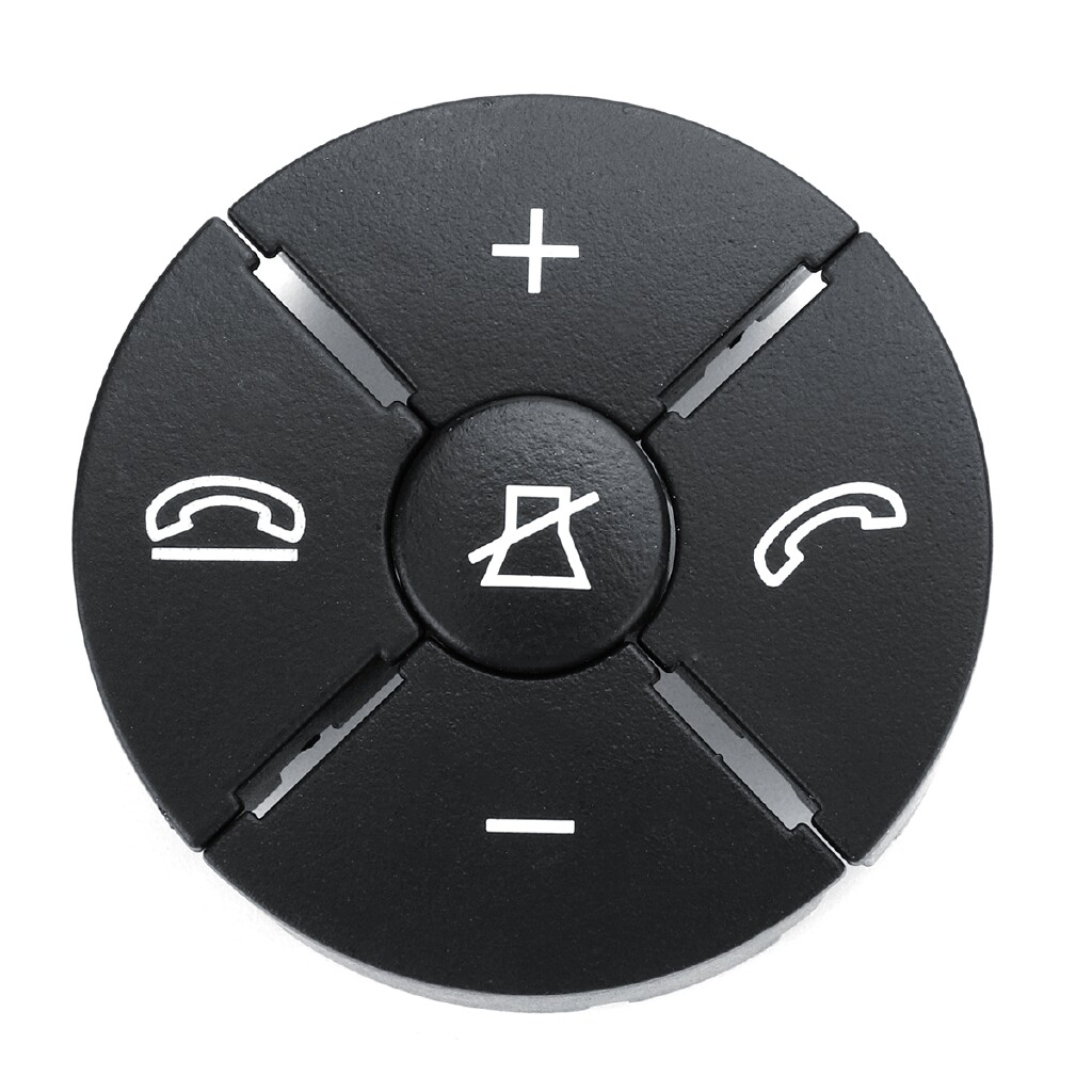 Automotive Tools & Equipment - Right Black Steering Worn Button Cover For Mercedes Benz W204 W212 C200 GLK260 - Car Replacement Parts