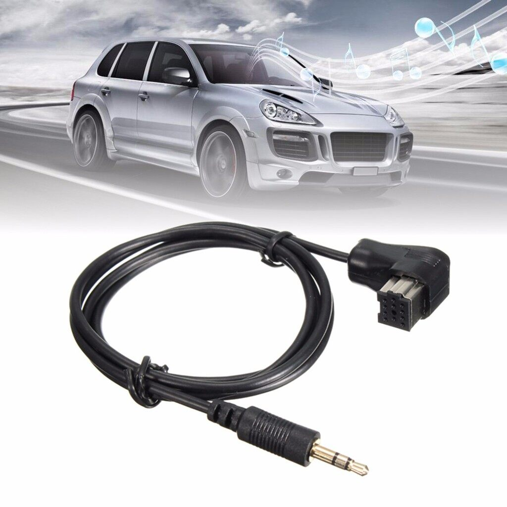 Tyres & Wheels - 3.5mm AUX INPUT CABLE TO PIONEER HEADUNIT IP-BUS AUX INPUT ADAPTER CABLE CORD - Car Replacement Parts
