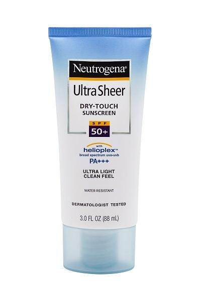 Neutrogena Ultra Sheer Dry Touch Sunscreen SPF 50+ PA+++ 88ml