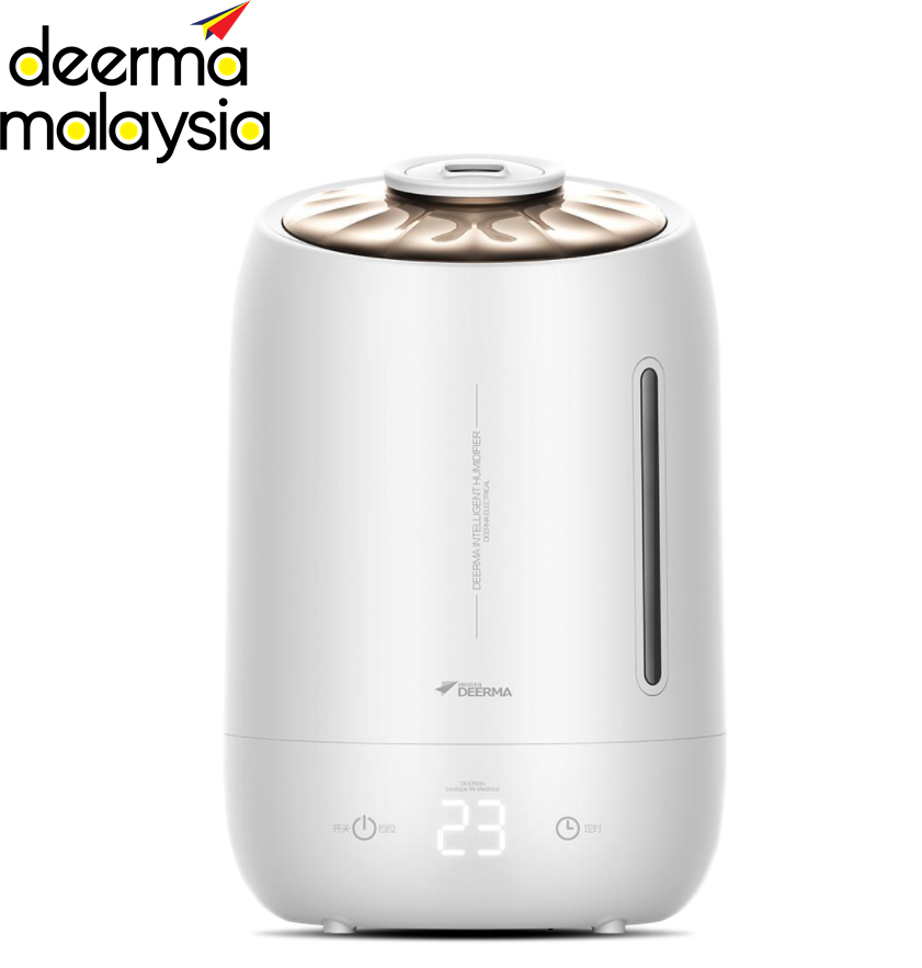 Deerma Air Humidifier F600 White Pearl - 5L Capacity