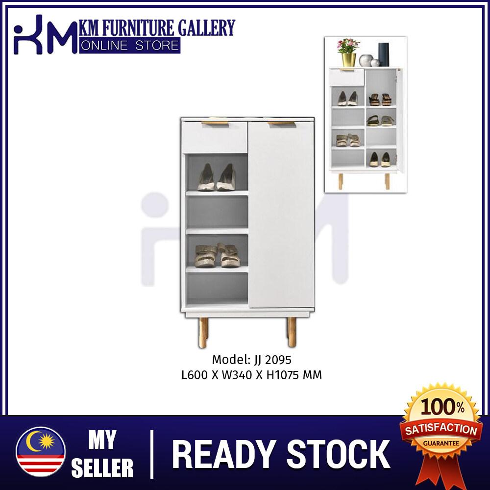 KM Furniture Gallery 1 Door Shoe Cabinet/ Almari Kasut - KMJJ2095 KMJJ2095