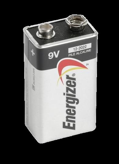 Energizer Max 9V Alkaline Smart Tag / Max Tag / Toll Battery