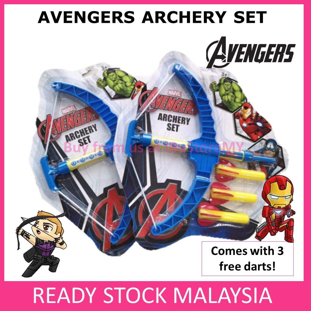Avengers Mini Archery Set Kids Toys Crossbow Party Set Hawkeye