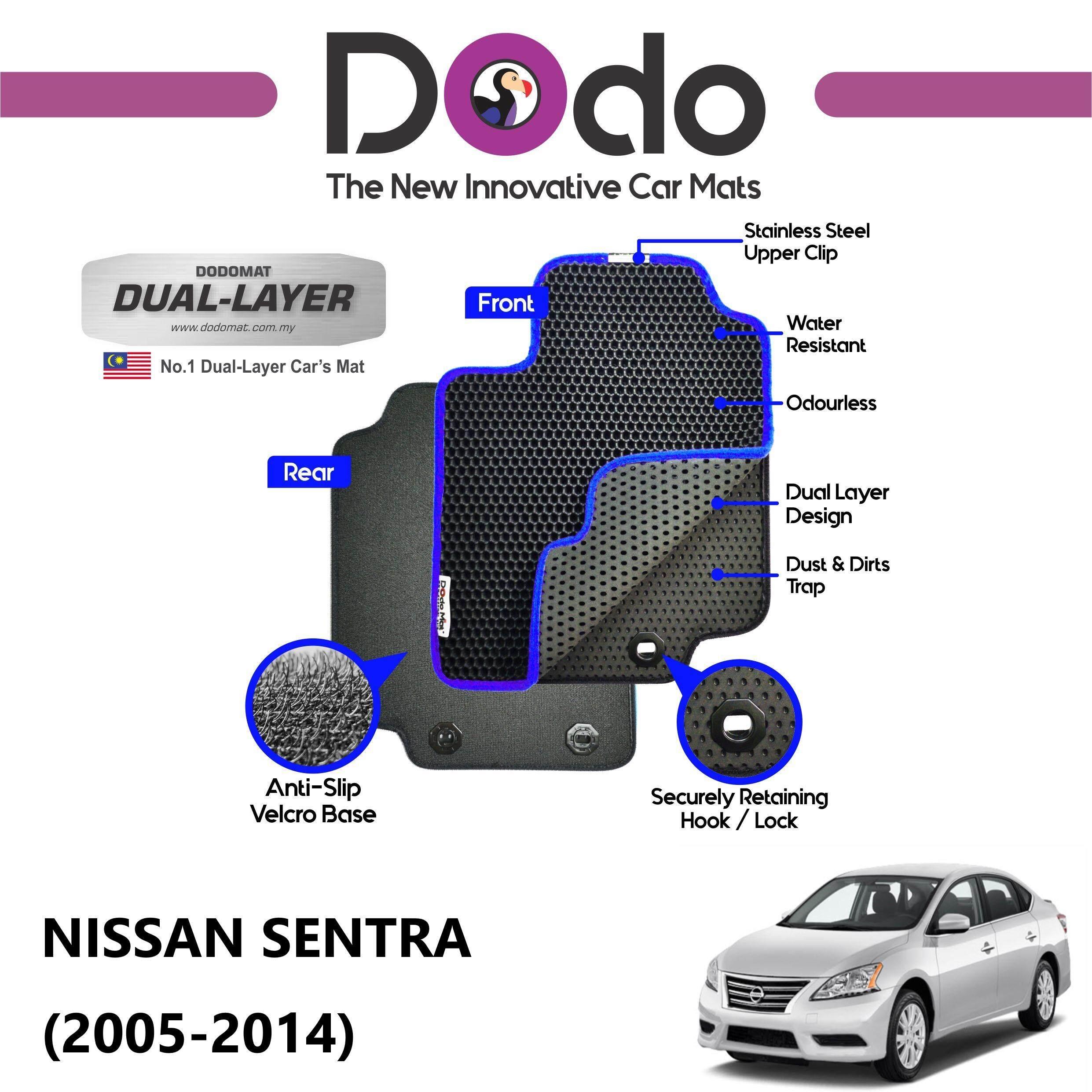 DODOMAT Car Mat NISSAN SENTRA (2005-2014) Model STANDARD