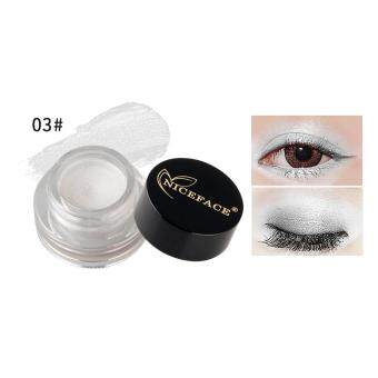 15 Color Diamond Shine Waterproof Long-wear Eye Liner Illuminating Glow Pigment Cosmetic Eyeshadow Cream