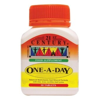 Harga 21ST CENTURY ONE-A-DAY Tablet 30s