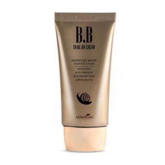 Aenepure Magic Snail BB Cream SPF50+ PA+++ 50ml UV Whitening Wrinkle Care
