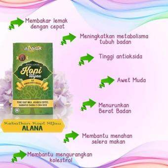 Harga ALANA GREEN COFFEE (Original with Hologram)