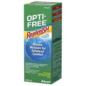 Harga Alcon OPTI-FREE(R) Replenish(R) MULTI-PURPOSE 300ml CONTACT LENSSOLUTION