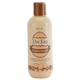 Beauty Buffet Scentio The Egg Treatment Shampoo 220ml -Product of Thai (HAIR SHAMPOO)