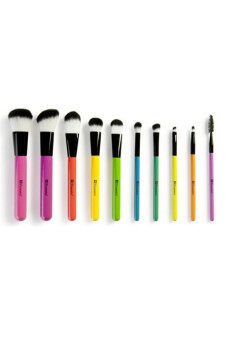 Harga BH Cosmetics 10pcs Pop Art Brush Set