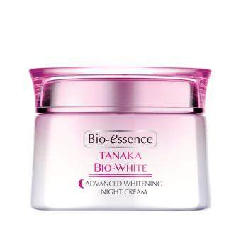 Harga BIO-ESSENCE Tanaka Bio-White Advanced Whitening Nite Cream 50g