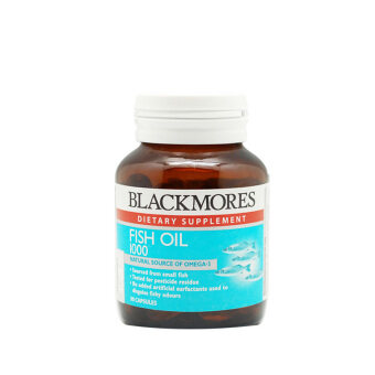 Harga BLACKMORES Fish Oil 1000mg 30s