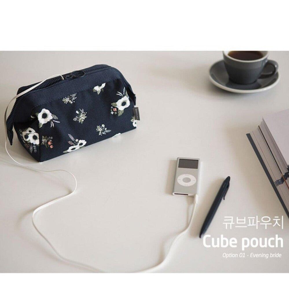 Bolster Store  Flora Flower Korean Women Travel Small Makeup Cosmetic Pouch Bag Cute Toiletries Bag