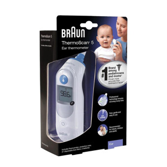 Braun ThermoScan5 Ear Thermometer (Original Ready Stock Warranty Inc)