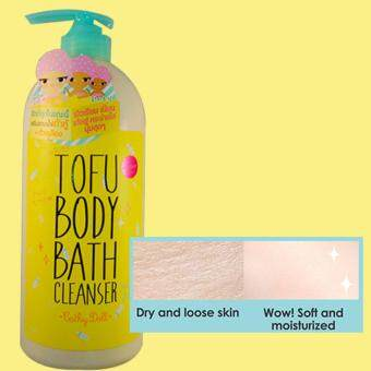 Cathy Doll Whitening Tofu Body Bath Cleanser 750ml
