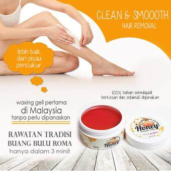Clean And Smooth Honey Waxing Gel Hair Removal by Aura Jelita