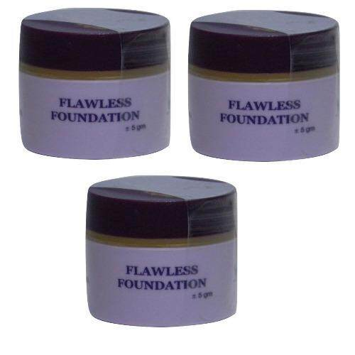 Dnars Flawless Foundation 5g x 3 (Twin Pack)