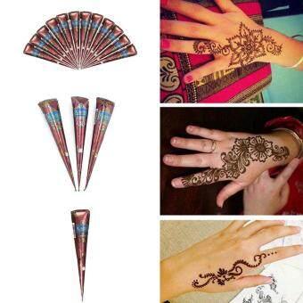 Cek Harga Neha Herbal Henna Powder Hand Art Tattoo Hair Color 250g